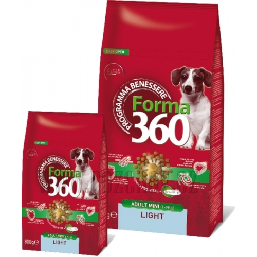 Benessere dog Forma adult light small 1,8kg