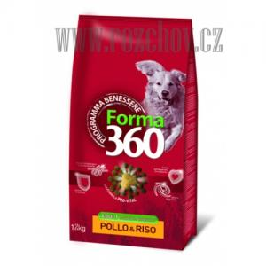 Benessere dog Forma adult kuře + rýže medium 12kg